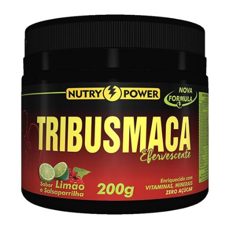 Tribus Maca 200g Sabor Limão Nutry Power