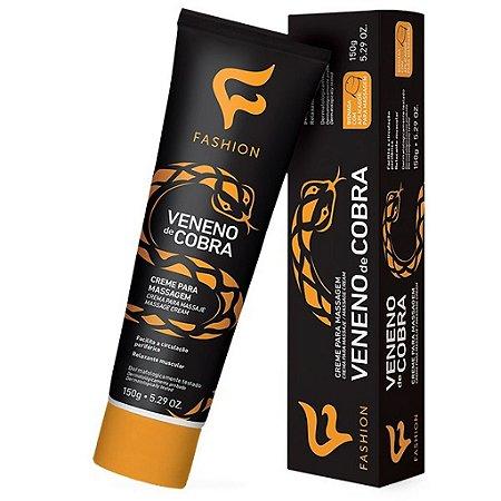 Veneno de Cobra Creme p/ Massagem 150g Fashion