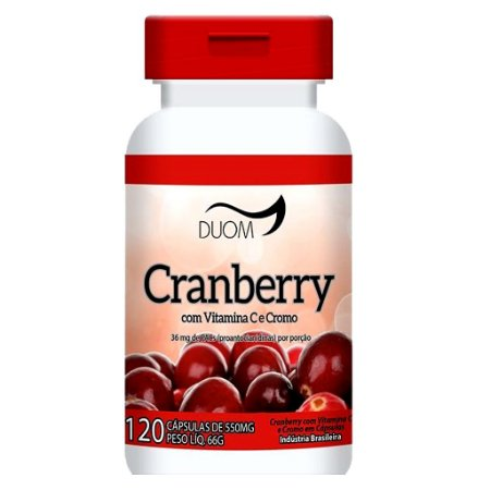 Cranberry 120cps 550mg Duom