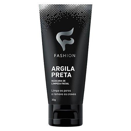 Argila Preta 30g (Máscara de Limpeza Facial) Fashion