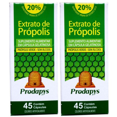 Kit 2 Und Extrato de Própolis 45cps Prodapys