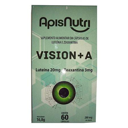 Luteína e Zeaxantina 60cps (Vision+A) Apisnutri