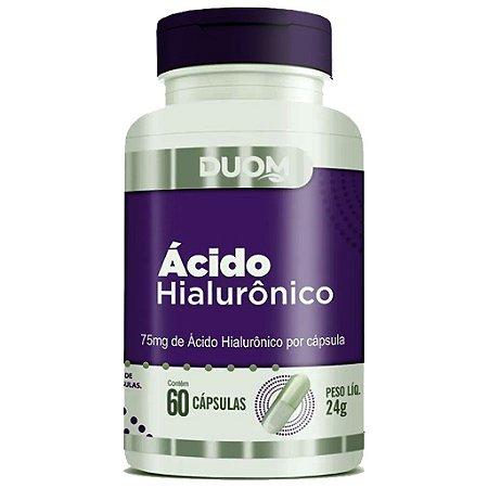 Ácido Hialurônico 60cps 75mg Duom