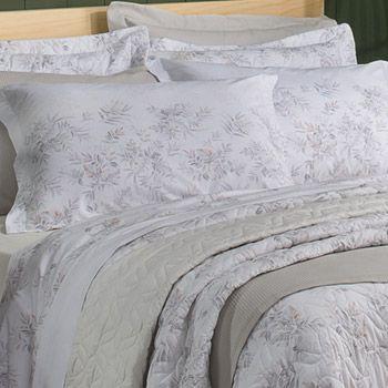 c04a404544 Jogo de Cama para cama casal Santista Cora - Dona Ester Enxovais ...