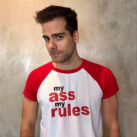 Camiseta My Ass My Rules