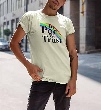 Camiseta IN POC WE TRUST