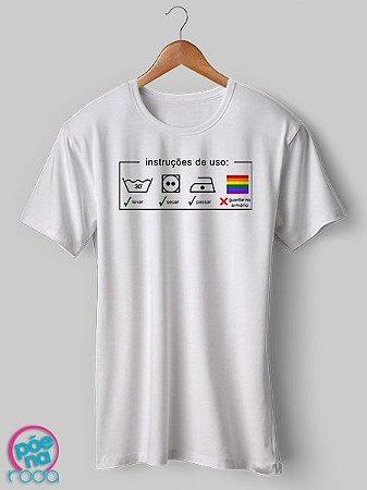 OUTLET - Camiseta Instuções de Uso (G)