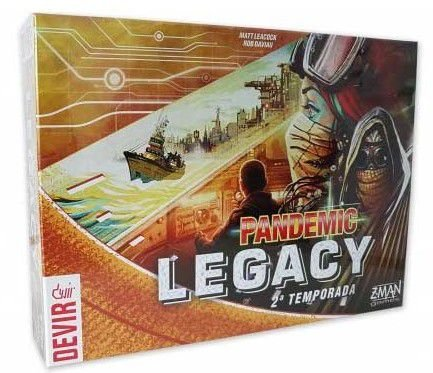 Pandemic Legacy: 2ª temporada Yellow
