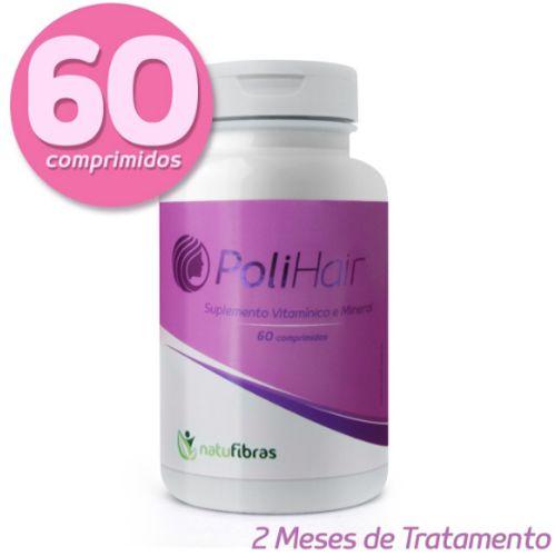 PoliHair Natufibras - O original da TV - 60 Cápsulas  02 Meses de tratamento.