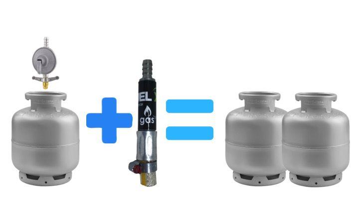 Economizador de Gas - FuelX - Até 50% de Economia no Botijão de 13 kg