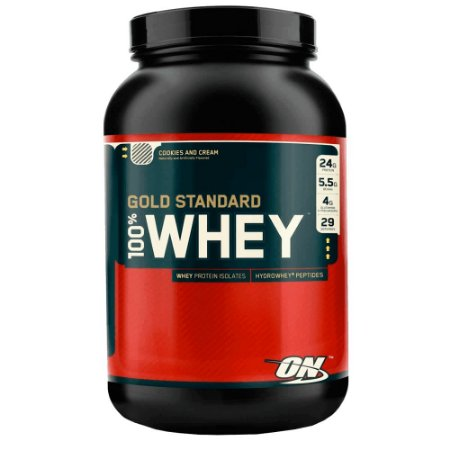100% Whey Gold Standard - Optimum Nutrition (909g)