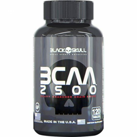BCAA 2500 - Black Skull (120tabs)