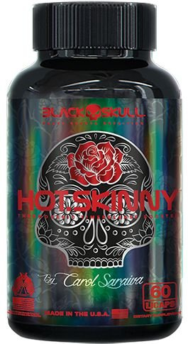 Hot Skinny - Black Skull (60caps)