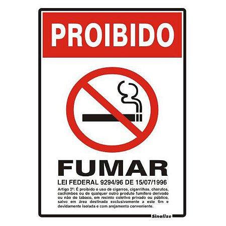 Proibido fumar