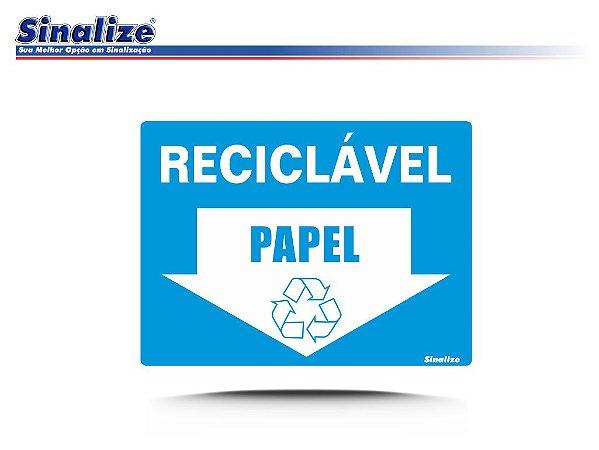 Reciclável (PAPEL)