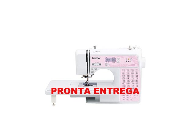 Máquina de Costura Brother SQ 9100 AutoVolt + Kit contendo Linhas e Calcador Extra