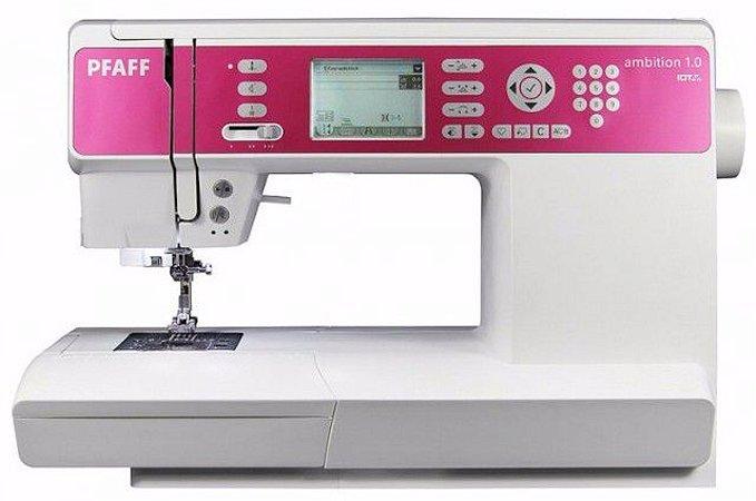 Máquina de Costura Eletrônica  PFAFF AMBITION 1.0 136 Pontos - 220 VLTS +KIT DE LINHAS