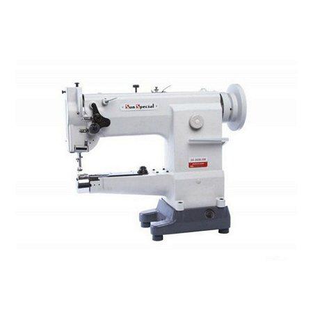 Máquina de Costura de  Braço Sunspecial 1 Agulha Transporte Triplo SS2628-LG-W - Bivolt
