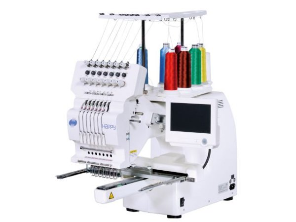 Máquina de Bordar Industrial 7 agulhas 29x29cm Happy HCH 701-30
