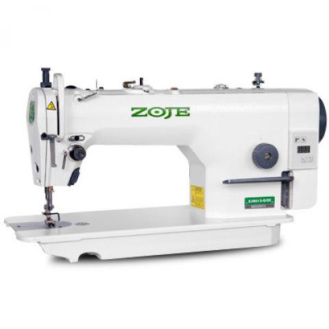 Maquina de Costura Reta Motor Direct Drive Zoje  ZJ-9513-G-02 - 220 VLTS + Kit de Calcadores e Bobinas extras
