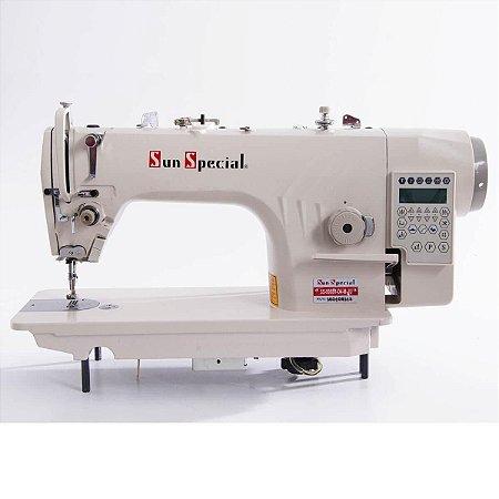 Máquina Reta Eletrônica Direct Drive Sun Special SS-9988-H-D4-M-JU - 220 vlts + KIT DE CALCADORES