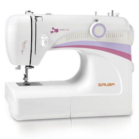 Máquina de Costura Doméstica Siruba HSM2722 - 110 vlts + KIT DE LINHAS