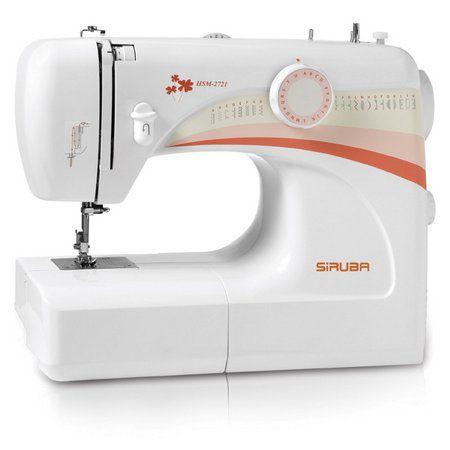 Máquina de Costura Doméstica Siruba HSM2721 - 110 vlts + kit de linhas