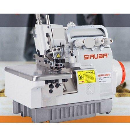 Maquina de Costura Overloque Siruba 637KP-504M2-04 DIRECT DRIVE -220 V