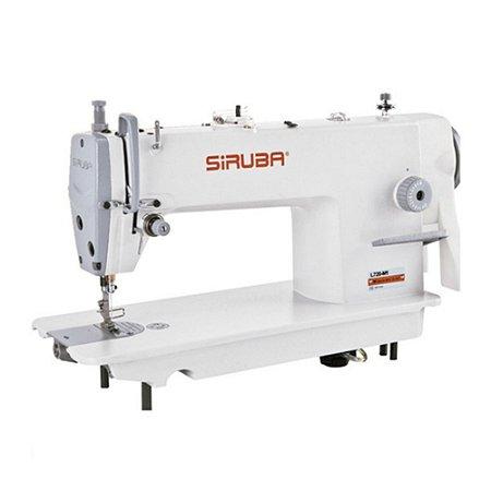 Maquina de Costura Reta Industrial Siruba L720-H1 ECO BIVOLT + KIT CALCADORES