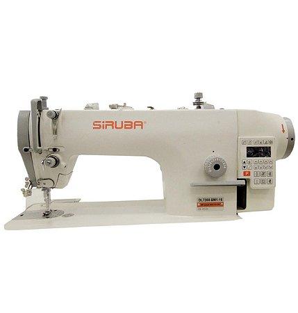 Máquina de Costura Reta Siruba Eletronica DL7200-BMI - 220 V Com Kit de calcadores