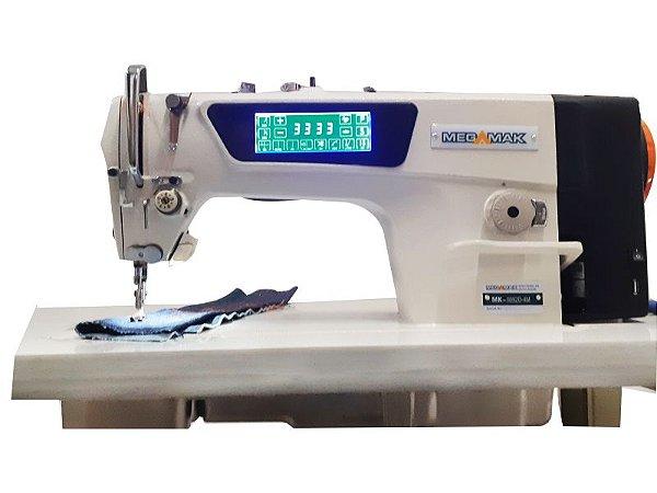 Maquina de Costura Reta Painel Touch com Comando de Voz Megamak MK9992D -4M - 220 V
