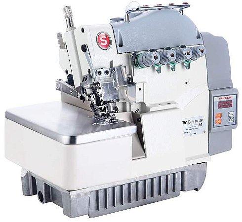 Máquina OVERLOQUE 3 FIOS c/ embutidor direct drive Bivolt - 351G-134M04E-07123