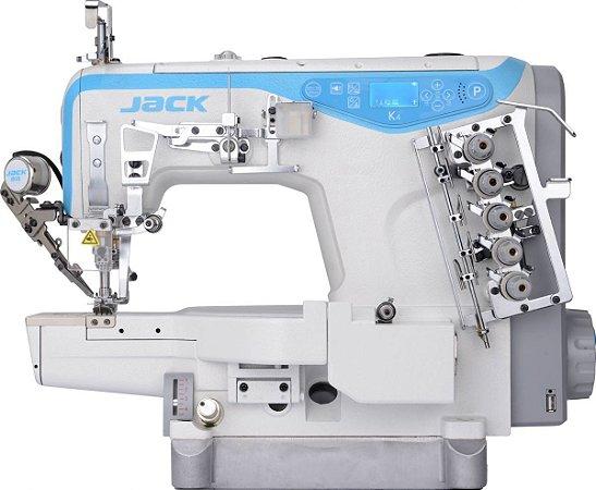 MAQUINA DE COSTURA GALONEIRA JACK COM CORTE DE LINHA JK-K4-UT-01GBX364/PL - 220 V