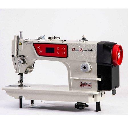 Máquina Reta Direct Drive com Control Box e Painel Acoplado ao Cabeçote SUNSPECIAL SS180-BA-QI - 110 V