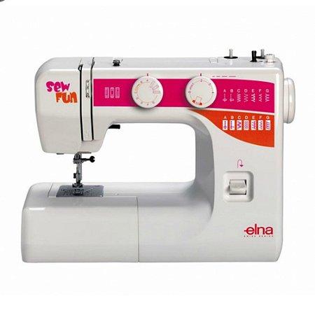 Máquina de Costura Elna Sew Fun 15 pontos - 110 V + KIT EXCLUSIVO