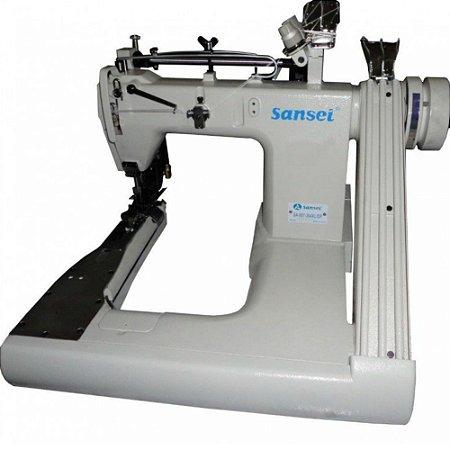 Máquina Fechadeira de Braço 3 Agulhas Sansei Para Jeans SA-007-364XL-DP - BIVOLT