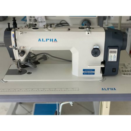 MAQUINA DE COSTURA TRANSPORTE DUPLO DIRECT DRIVE ALPHA LH-0303DP - 220 V