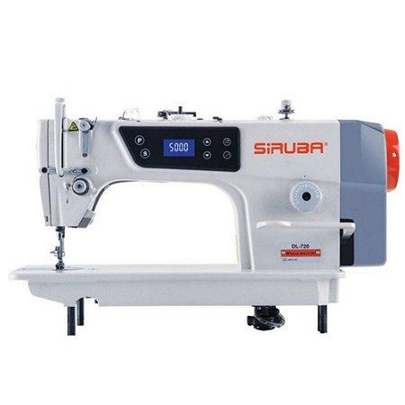 Máquina De Costura Reta Siruba Motor Direct Drive DL-720-M1 - 220 V com Kit de Calcadores