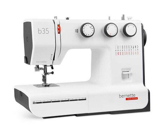 Máquina de Costura Domestica Bernette B35 Mecanica - 220 V - Ideal para Costuras Grossas