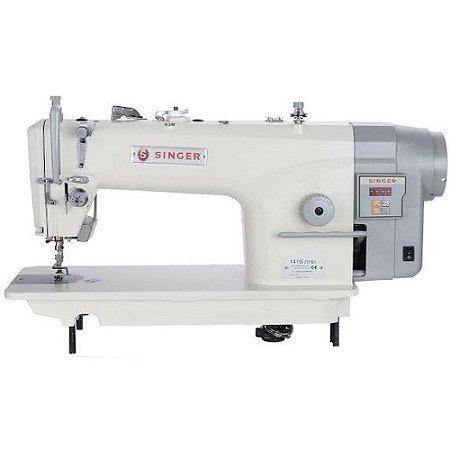 Máquina de Costura Industrial Reta Singer Motor Direct Drive Singer 141G-20 CEB - 110 V