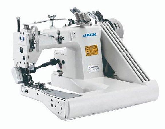 """Maquina de costura Fechadeira de Braço de 3 Agulhas Para Jeans Jack JK-T9280D-73-PS (1/8"""") - 220 V"""