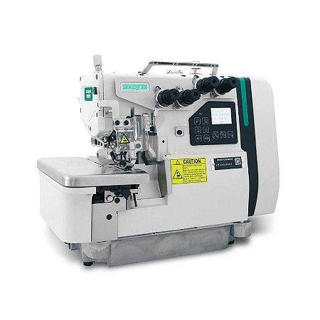 Maquina Overloque 4 Fios Eletrônica com Control Box Acoplado no Cabeçote Zoje B9500-13-ED3-02 - 220 V