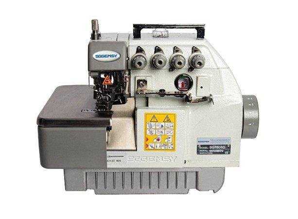 MAQUINA OVERLOQUE SGEMSY 4 FIOS PONTO CADEIADIRECT DRIVE SS798D-4 - 110 V