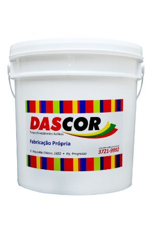 Impermeabilizante Dascorpren Parede/laje/reboco Branco 19KG