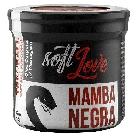 Tri ball  bolinha funcional 3unid - Mamba negra