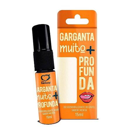 Spray  Dessensibilizante para oral 15ml - Garganta Profunda