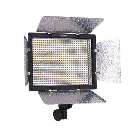 LED Painel Yongnuo YN-600L (3200K e 5500K) + Fonte