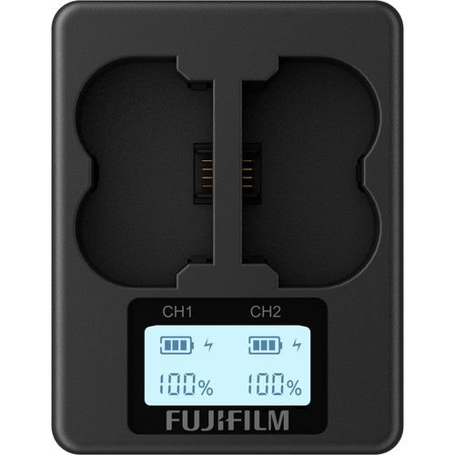 Carregador FUJI BC-W235 para baterias NP-W235 (duplo da FUJIFILM)