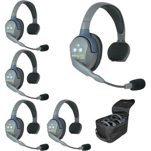 Intercomunicador sem fio EARTEC UL5S (5 fones Single)