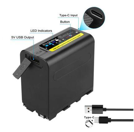 Bateria NP-F980 (Probty)